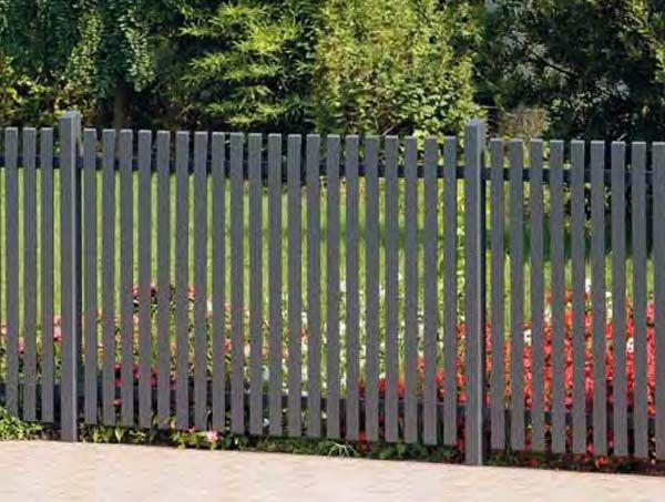 10 besten Zaun Bilder auf Pinterest Zaun, Gartenzaun und Holzzaun - gartenzaun modern metall