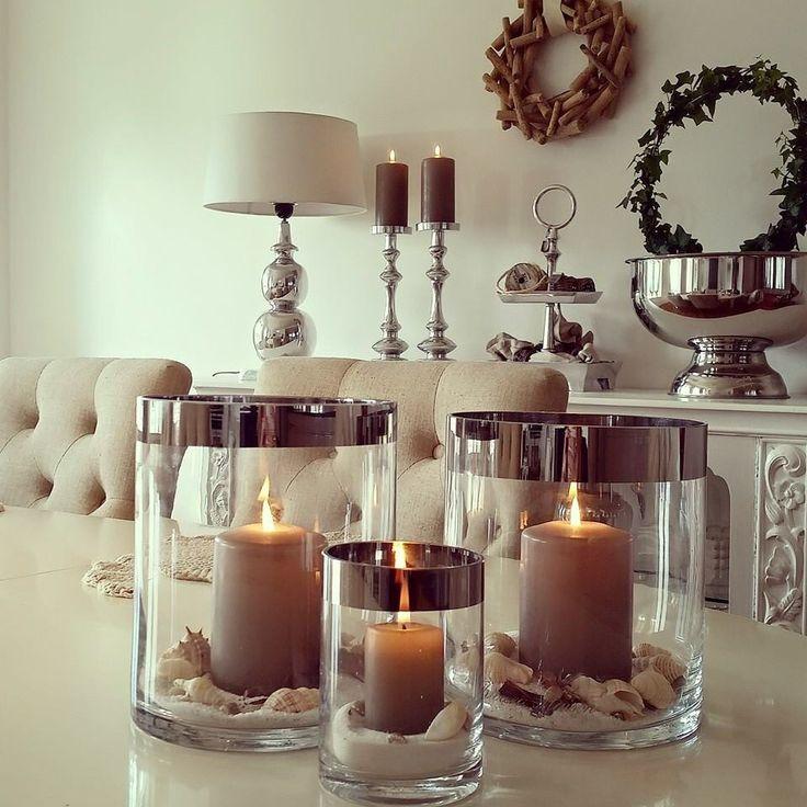 25 beste idee n over kaars decoratie op pinterest landelijke bruiloft decoraties en - Decoratie industriele huis ...