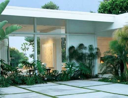 ELEMENTS AT HOME: My Top 10 Tips for Mid Century Garden Design