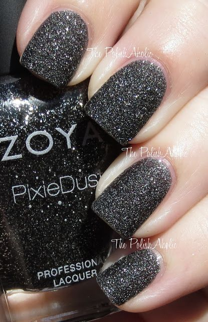 The PolishAholic: Zoya PixieDust Collection Swatches - Dahlia