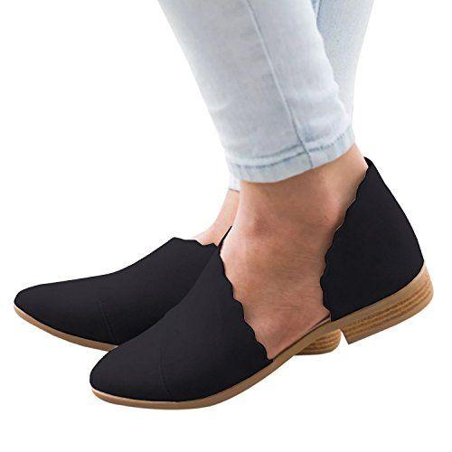 e278f993cb75c Amazon.com | Dellytop Womens Open Toe Flat Sandals Side Cut Out Slip ...