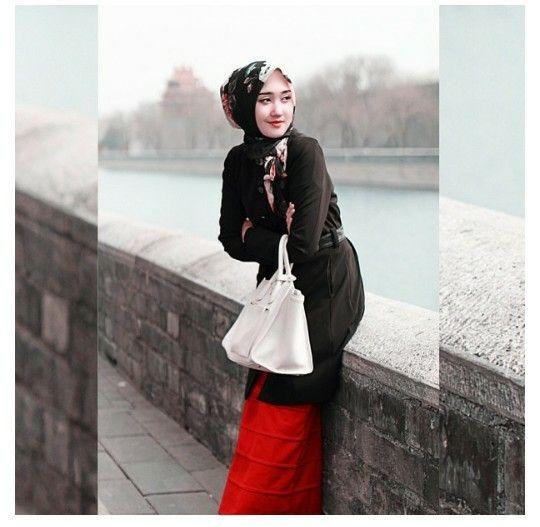 Dian pelangi hijab at beijing