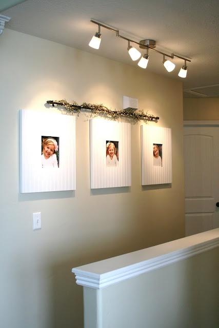 Lighting fixture idea for hallway