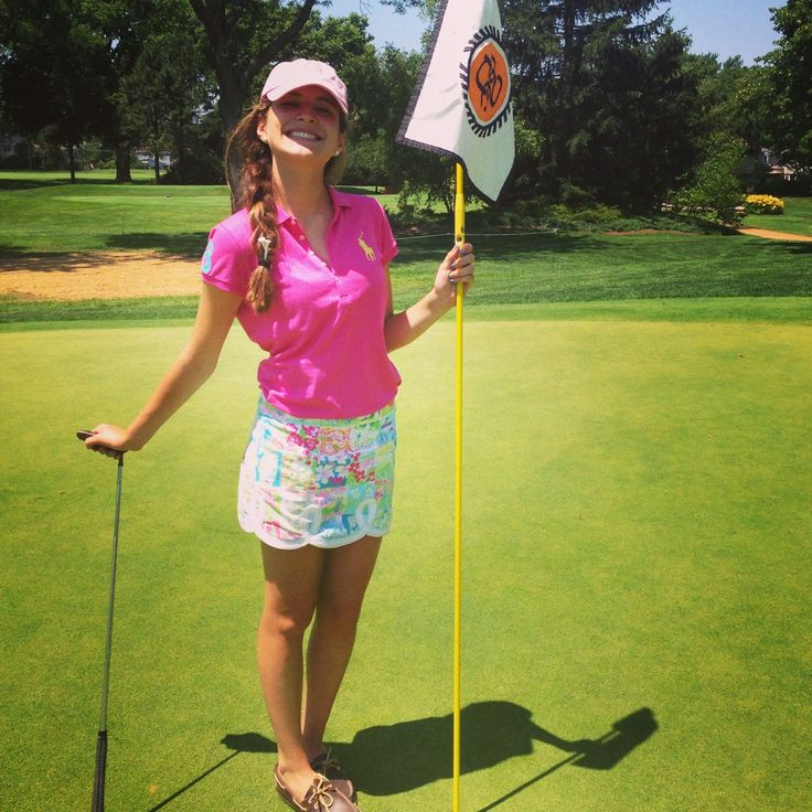 The 25+ best Cute golf outfit ideas on Pinterest | Golfing outfits Womens golf attire and Golf ...