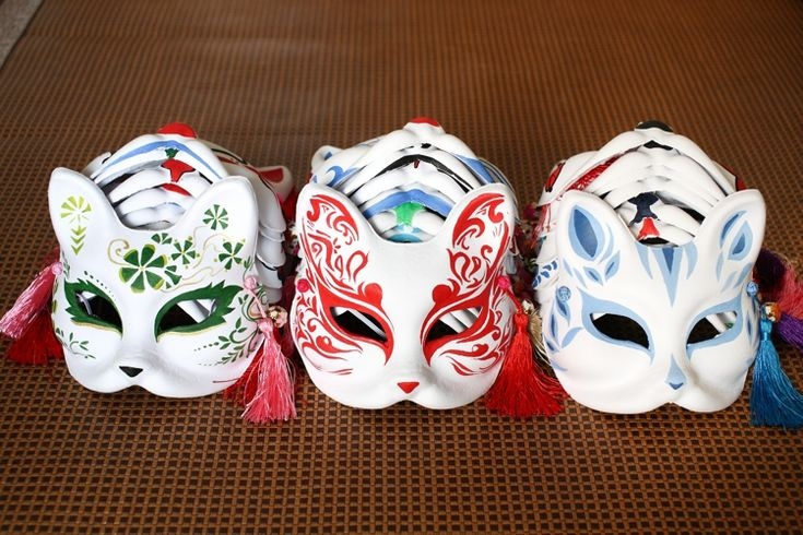 japanese fox mask - Google Search