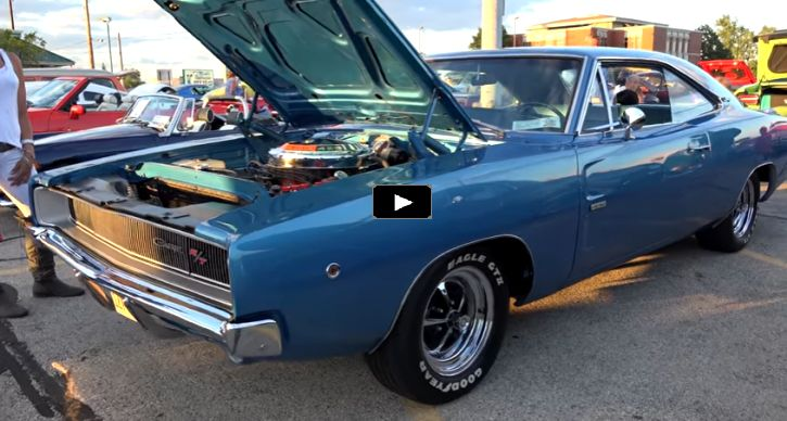All Numbers Matching 1968 Dodge HEMI Charger R/T