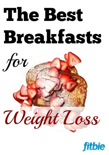 These healthy, low-calorie breakfasts will fill you up while helping you slim down. | Fitbie.com