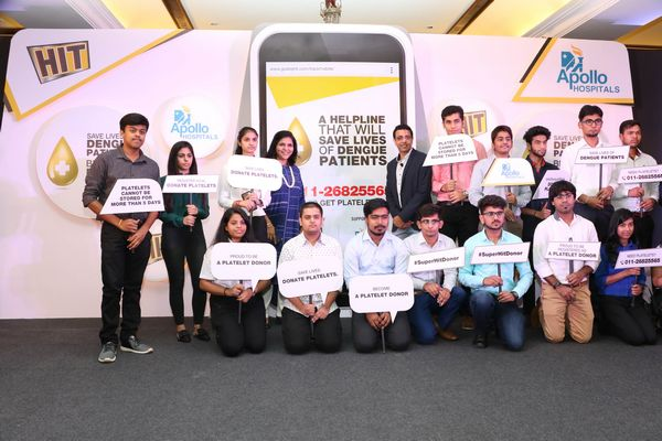 Godrej HIT partners with Apollo Hospitals to launch India's 1st online 'PLATELET DONOR COMMUNITY' to save lives of dengue patients - Core Sector Communique