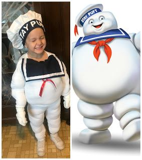 The Universal Mama: DIY Stay Puft Marshmallow Man Costume (Sew OR No-S...