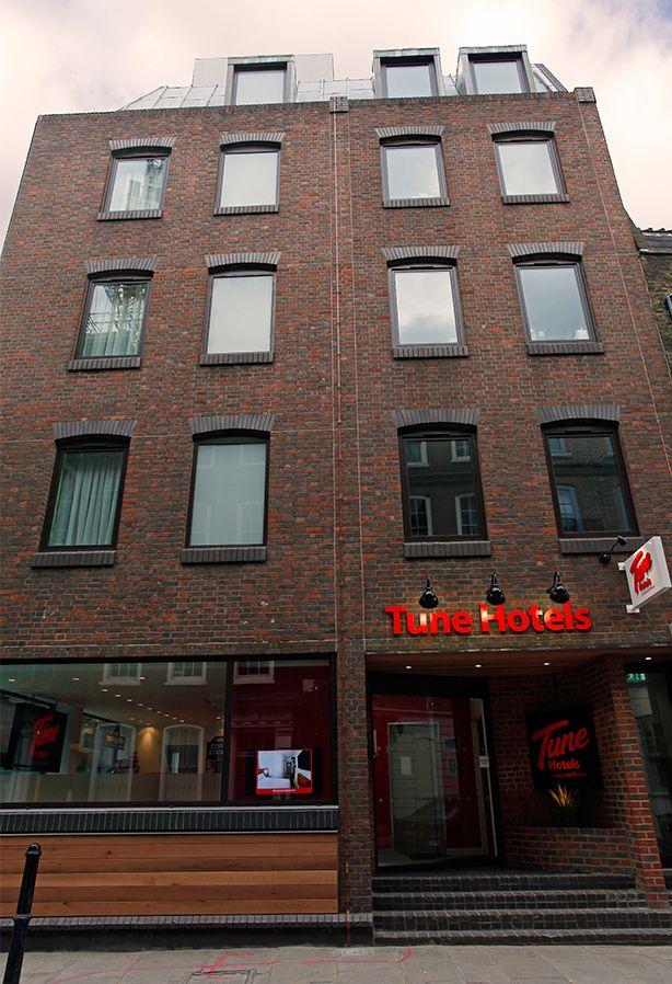 Liverpool Street London Hotels - Tune Hotels