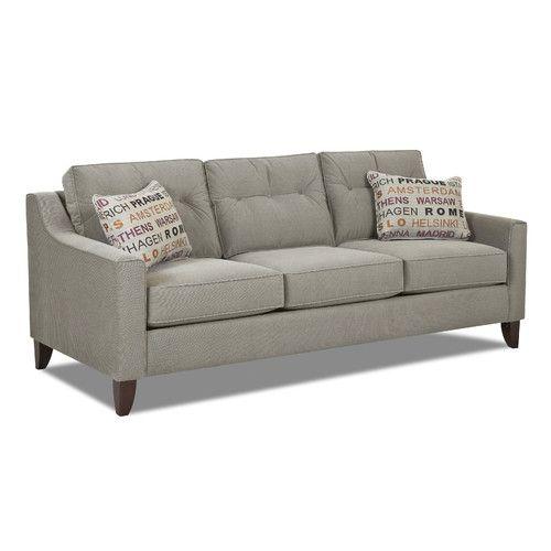 Klaussner Leather Sofa Review: Klaussner Furniture Audrina Sofa & Reviews