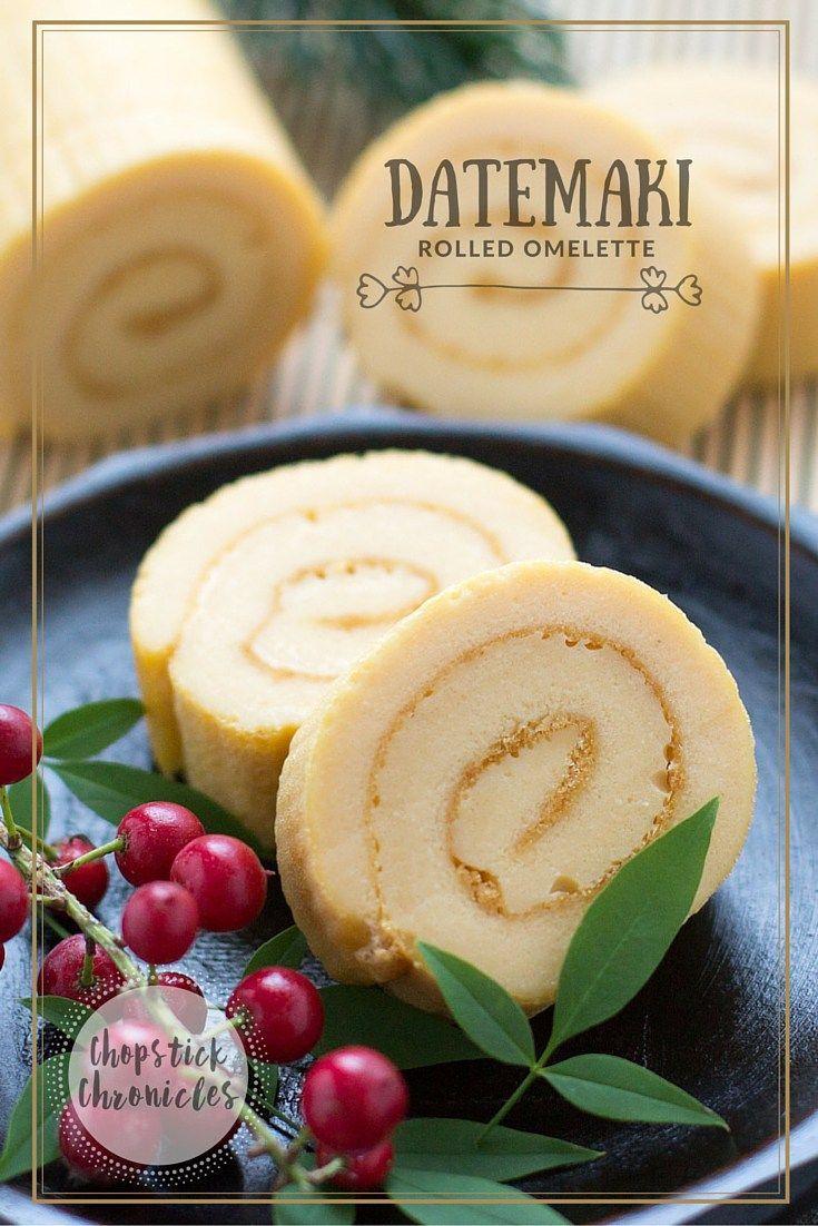 Datemaki- Japanese Rolled Omelette