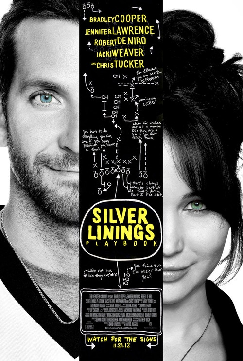 Silver Linings Playbook. LOVED IT!!