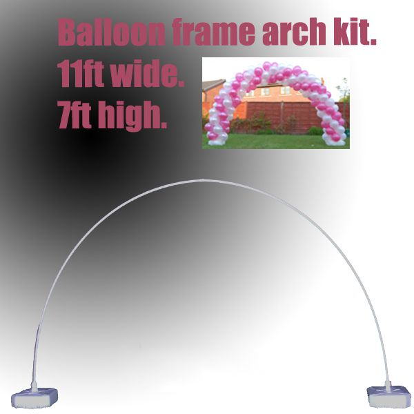 latex balloon arch frame kit hardware only inflate create latex balloon arch frame kit
