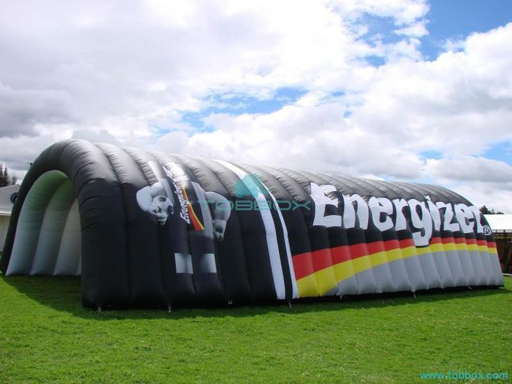 Useful Inflatable Tunnel Tent from Tobbox
