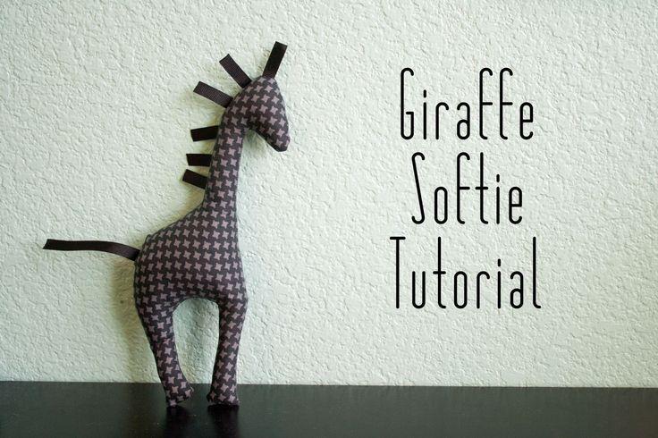 Tutorial: Easy Giraffe Animal Softie
