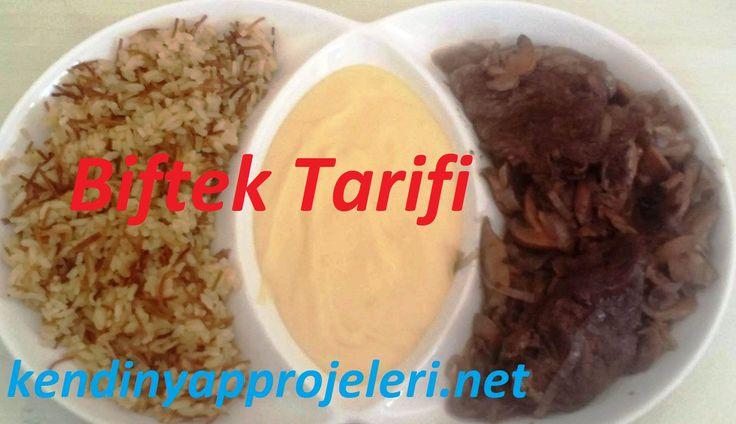 Biftek tarifi - http://www.kendinyapprojeleri.net/yemek-tarifleri/et-yemekleri/biftek-tarifi/