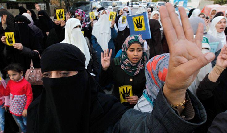 Muslim Brotherhood supporters in Jordan