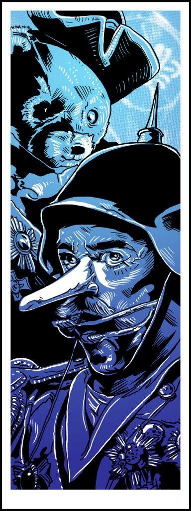 Cool Art: Free 'Kaiser Bear' Blade Runner Print by Tim Doyle