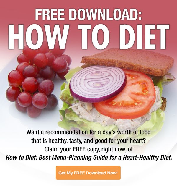 How to Diet: Best Menu Planning Guide for a Heart-Healthy Diet - Nutrition Action