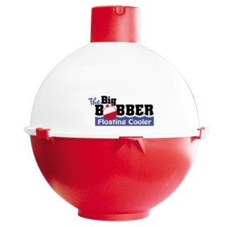 Never leave your drinks behind with this floating cooler. The Big Bobber cooler floats in water, so it's perfect for the lake or pool. The cooler comes in red and white, cleverly designed to look like a fishing bobber.