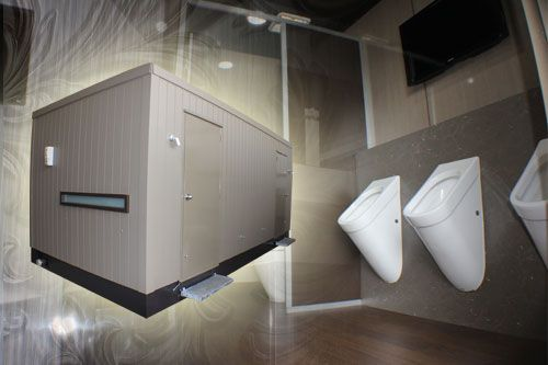 For when five stars isn't enough, hire our six star VIP toilet; 'The Villa', which takes luxury to a whole other level.