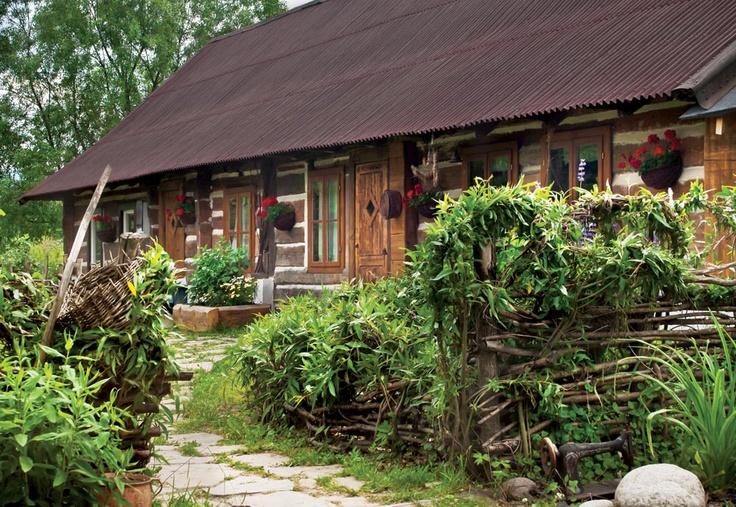 Wooden House in Smolnik, Bieszczady / Poland