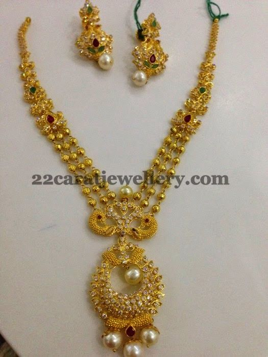 Jewellery Designs: CZ Uncut Necklaces for Kids and All Ages