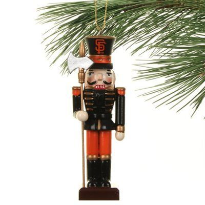 San Francisco Giants Nutcracker Ornament (With images ...
