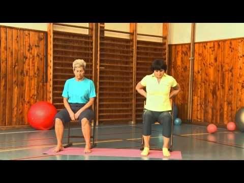 Sed - Cvičením proti bolesti - 11. díl - YouTube