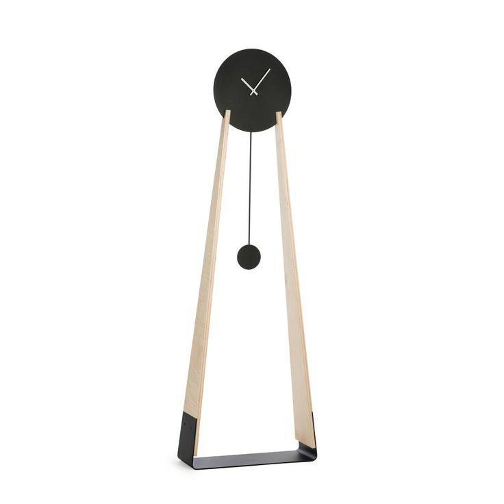 Tall clock, scandinavian style, minimalism