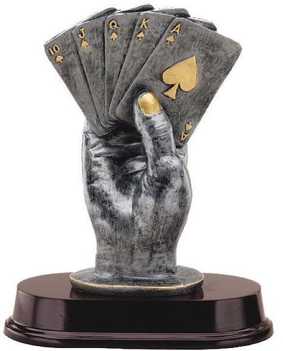 "poker_history101: ""Hey #poker friends hashtag someone that you admire in poker and why . It could be that they helped your game  taught you how to play  or simply inspired you . Doesn't have to be someone famous . It could be a parentfriend or someone you know and present them with this trophy post as a thank you . I believe in always being grateful."""