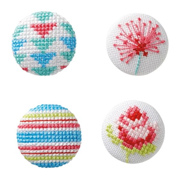 Bright as a Button, originally published in Cross Stitch Collection, February 2013 (Issue 219).