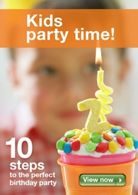 The ultimate birthday party planner