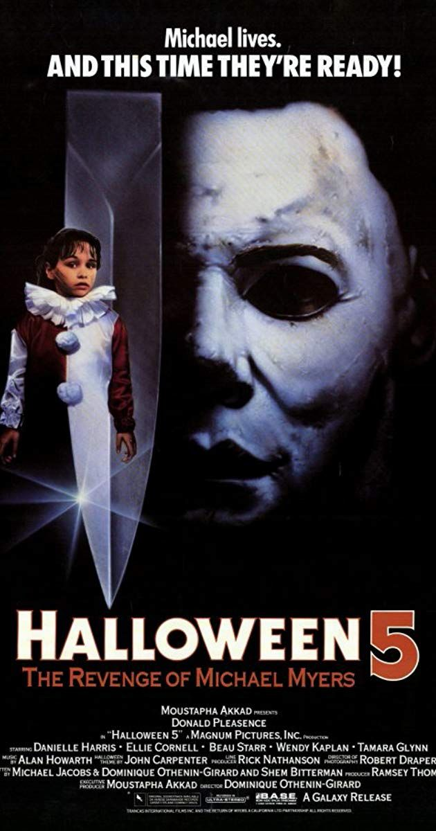 Directed By Dominique Othenin Girard With Donald Pleasence Danielle Harris Ellie Cornell Beau Starr One Year After In 2020 Michael Myers Donald Pleasence Michael
