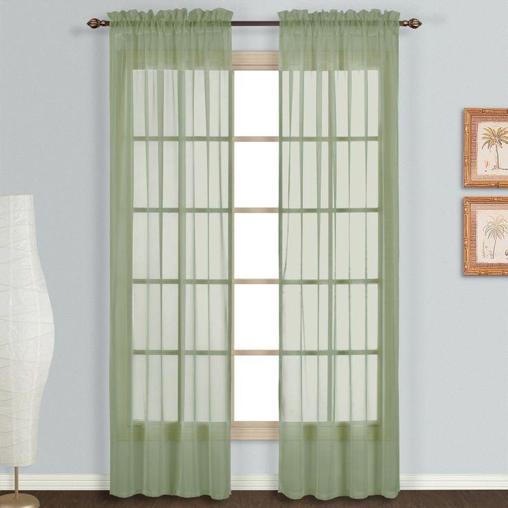 Best 25+ Voile Curtains Ideas On Pinterest