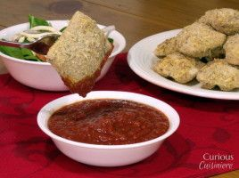 This completely from-scratch Oven Baked Toasted Ravioli recipe is a lighter take on the St. Louis classic.