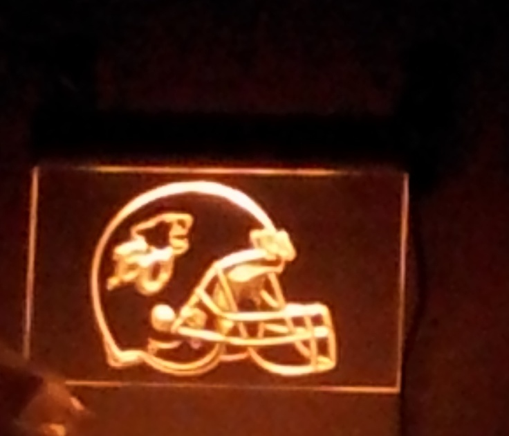 Lighted sign found on ebay a few years ago.