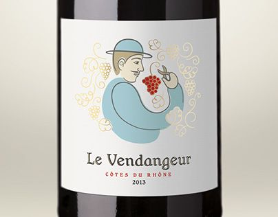 "Check out new work on my @Behance portfolio: ""Le Vendangeur"" http://on.be.net/1VPRova"