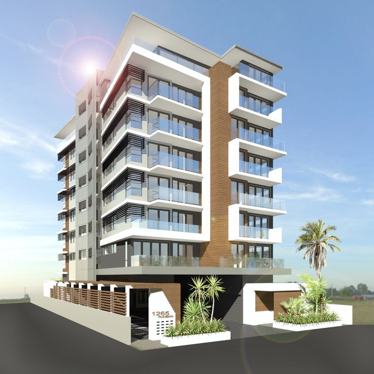 7 storey apartment unit on the busy Gold Coast highway, Palm Beach.