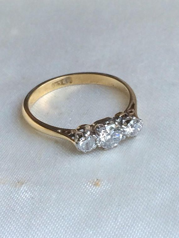 Pin On Antique And Vintage Engagement And Wedding Rings
