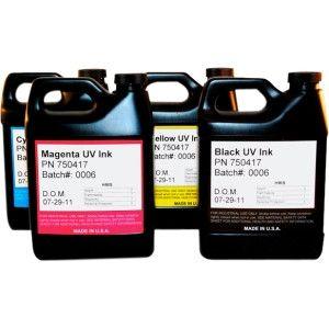 INK MILL UV Inkjet Ink for Rastek T660 - Cyan - Inkjet