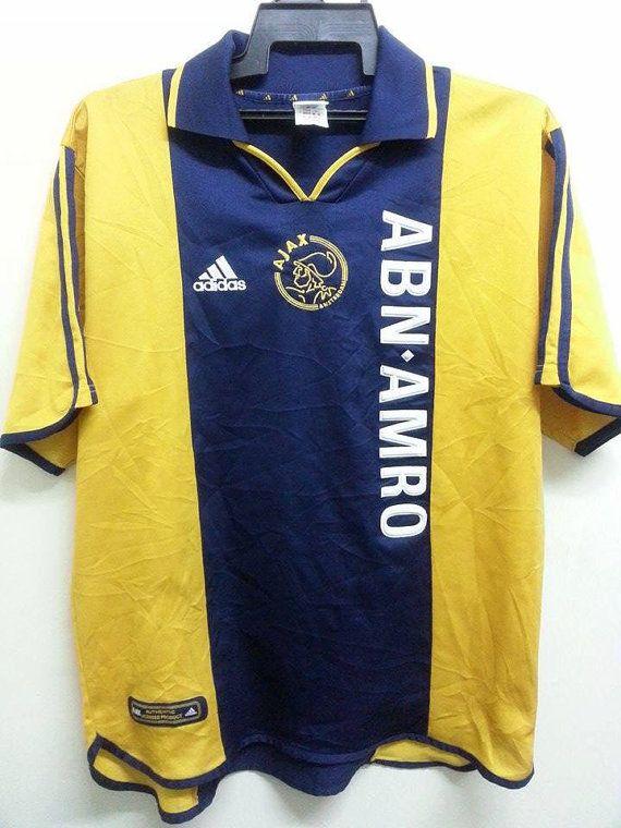 SALE Adidas Ajax Amsterdam Centenary Away Jersey by SuzzaneVintage