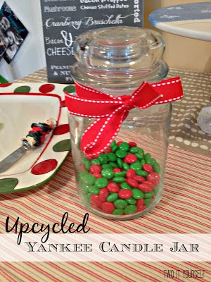 Hometalk :: How to Empty the Wax and Re-Use Yankee Candle Jars