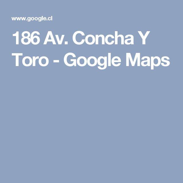 186 Av. Concha Y Toro - Google Maps