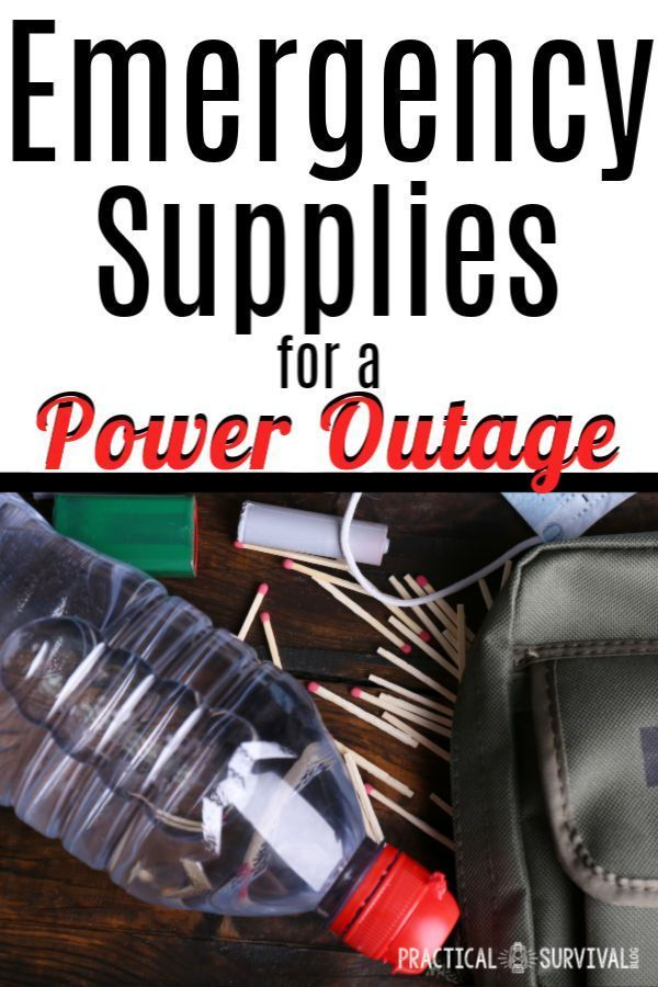 7 Must Have Items For A Power Outage Emergency Supplies Power