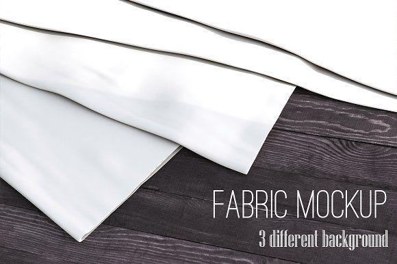 Realistic Fabric Set Mock Up Mockup Psd Mockup Free Psd Mockup