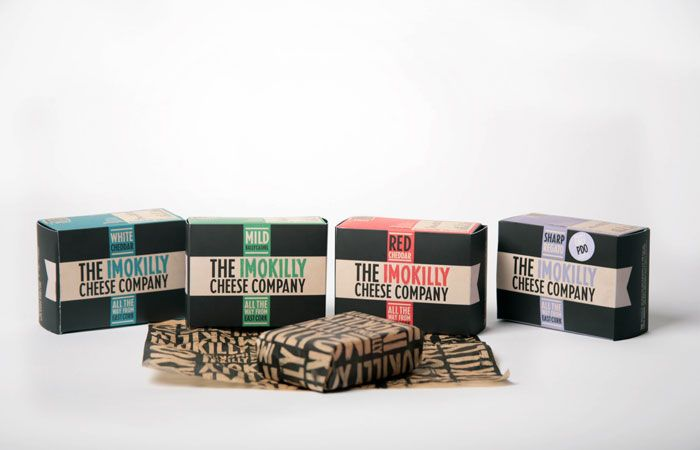 Imokilly Cheese Company - fantastic branding & packaging.