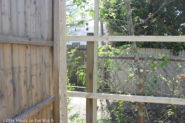How To Make A Fence Taller Using The Existing Posts