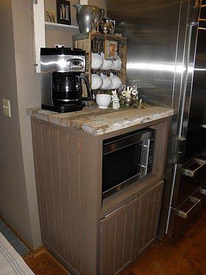 Coffee Kitchen Cart